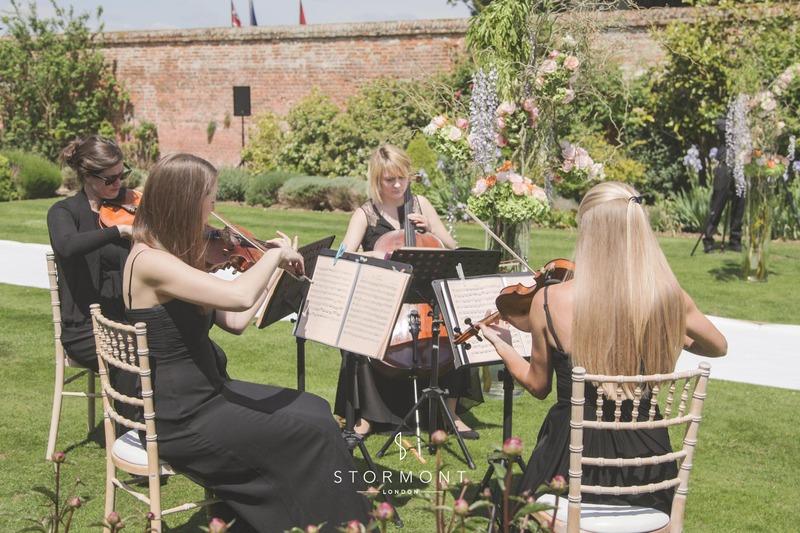 wedding string quartet four seasons hampshire stormont lodon