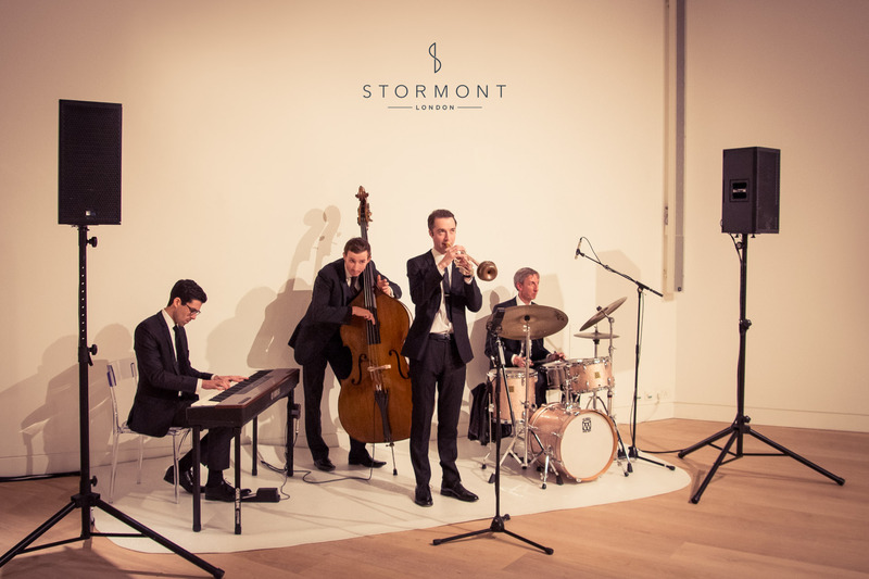 stormont london luxury jazz band ralph lauren phillips gallery entertainment