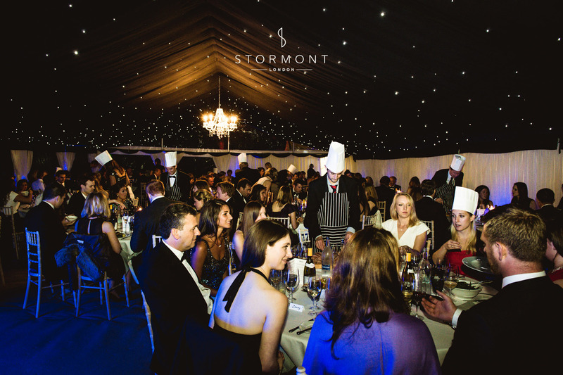 stormont event entertainment marquee tandem catering chefs