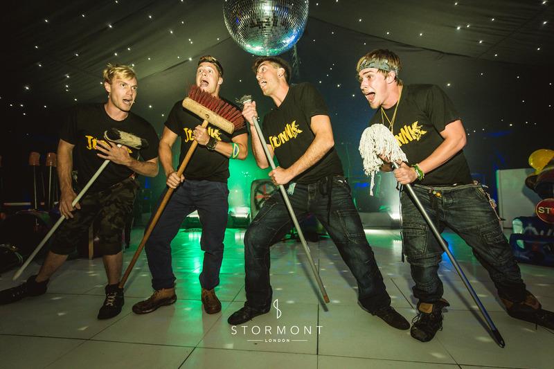 stormont event entertainment junnk band