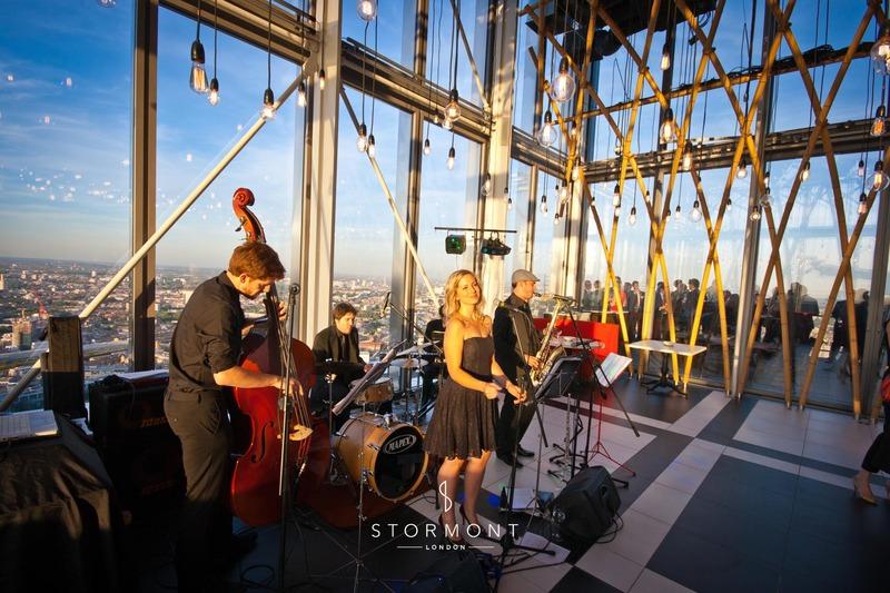stormont london corporate event entertainment heron tower sushi samba